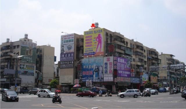 P-005壁面廣告牆-高雄市民族一路 32 之 4 號-往世貿大樓、九如交流道廣告看板