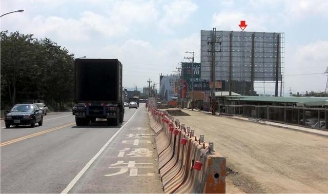 H-0256鐵架廣告牆-台中市沙鹿區中清路43-28號-台中航空站對面廣告看板