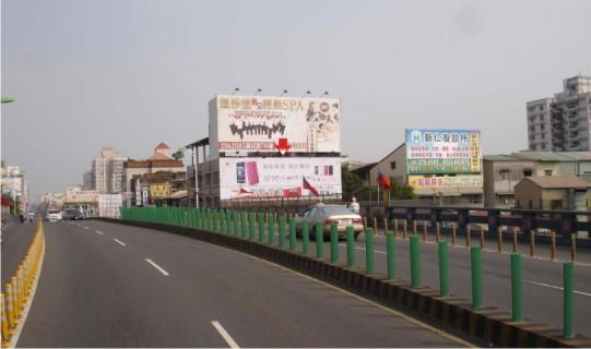 L-0058B壁面廣告牆-嘉義市民族路953號B面-嘉義橋往中山路方向廣告看板