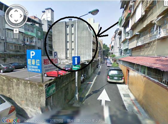 右側街口照