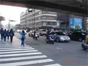 新竹-巨城大商圈 LED電視廣告牆