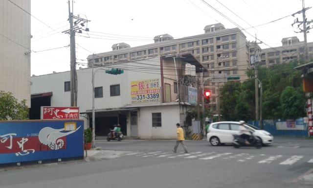 桃園火車站 三角窗 邊間 路衝(樹仁三街/大原路口)