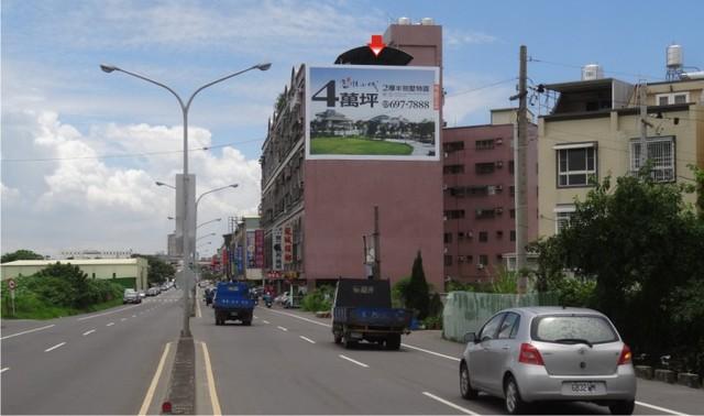 N-0612A壁面廣告塔-台南市永康區永安路237號-歷史博物館、中國醫藥大學、中信貴田酒店廣告版面