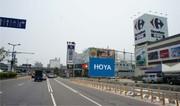 N-0660BC壁面廣告塔-台南市仁德中山路701號-B&Q、HOLA、家樂福、大魯閣棒壘球場廣告版