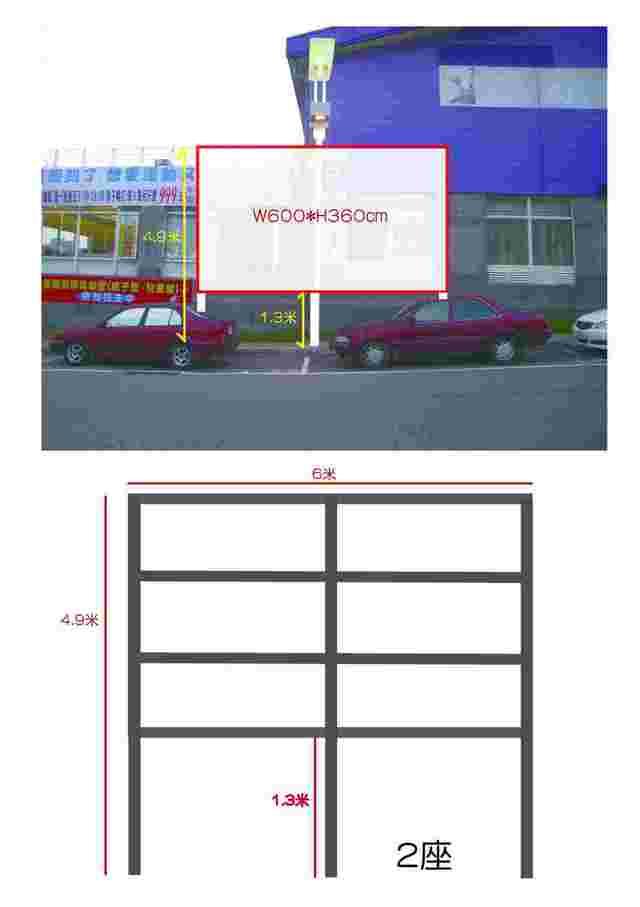 A.西屯路三段 Tech Mall中科購物廣場廣告看板出租
