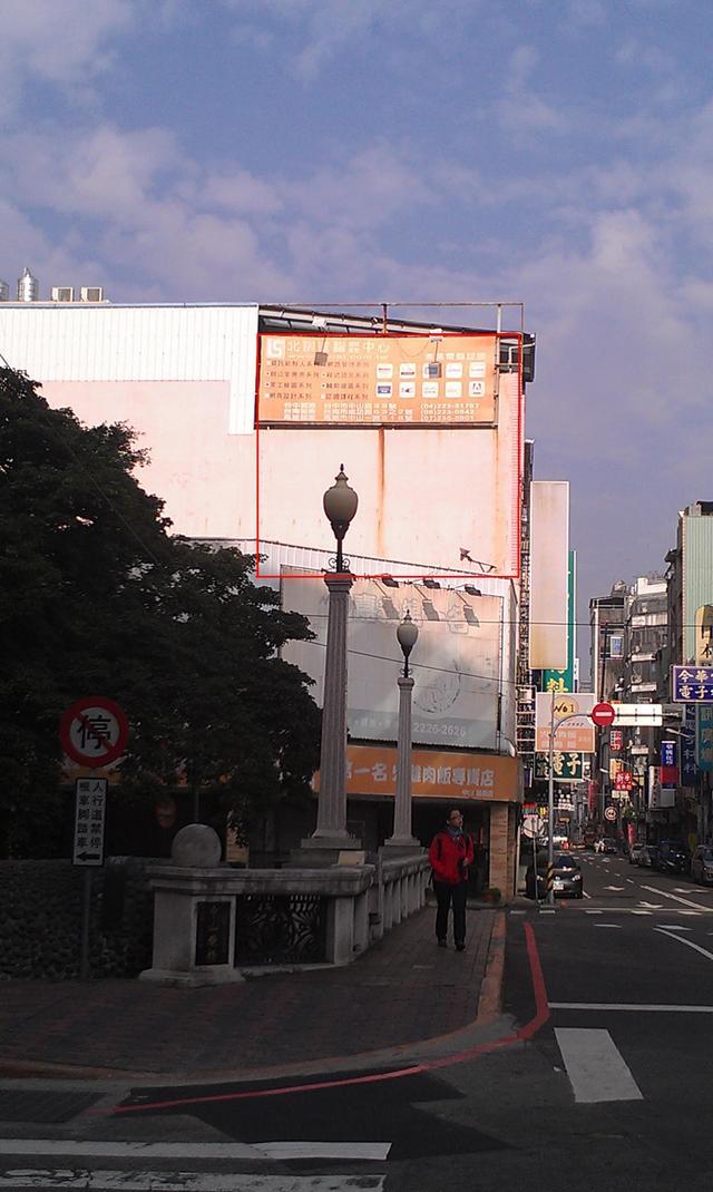 外牆廣告出租(火車站前)-只要6000/月