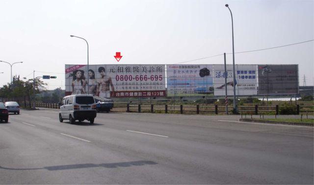 TN-S-102AB-鐵架廣告塔-台南新市區社內段地號539號-台南市新市區南科南大門出入口廣告看板