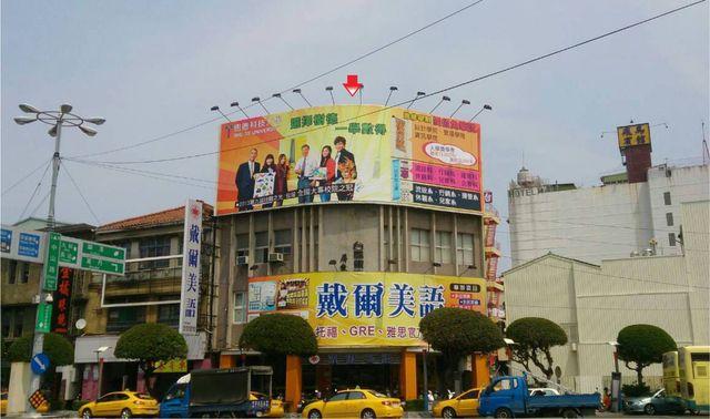 CCM-Q-0001鐵架廣告塔-屏東市中山路4號-屏東火車站前廣告看板