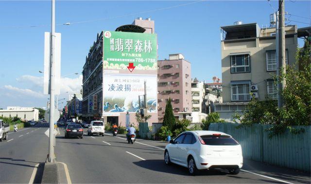 N-0612B壁面廣告塔-台南市永康區永安路237號-歷史博物館、中國醫藥大學、中信貴田酒店廣告版面