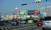 N-0213F鐵架廣告塔-台南市和緯路四段426號-和緯黃昏市場、好市多、武聖夜市廣告看板