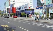 N-0677A鐵架廣告塔-台南市永華路二段216號-中油加油站、市政府、安平廣告看板