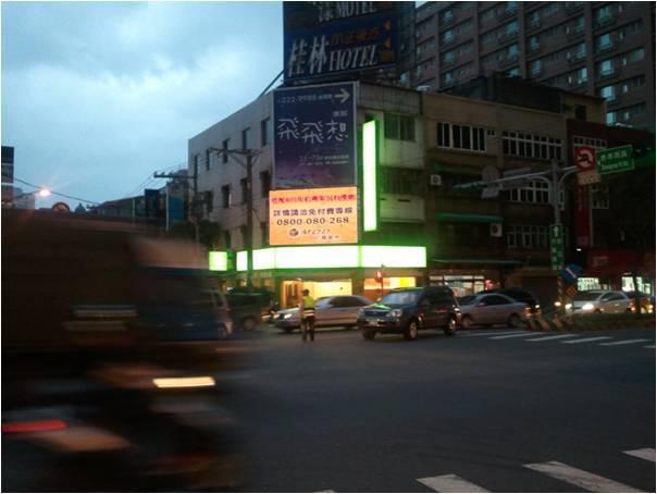 【南崁商圈LED電視廣告牆】(中正路+忠孝西路口)