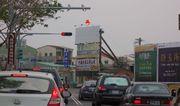 N-0675鐵架廣告塔-台南市安吉路往海佃路路衝方向廣告看板