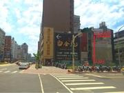 25000松江南京地段廣告牆面出租.可拆樓層租