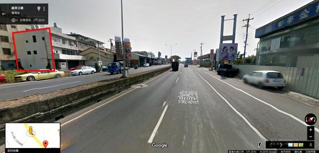 員林大村正中山路廣告牆