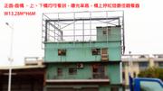 鐵架廣告- 垂楊大橋旁 曝光率高!廣告看板牆