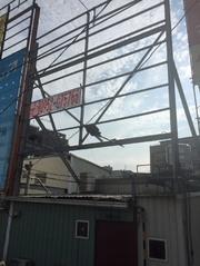 台中市南屯區向上路旁看板D面(黃金招牌)