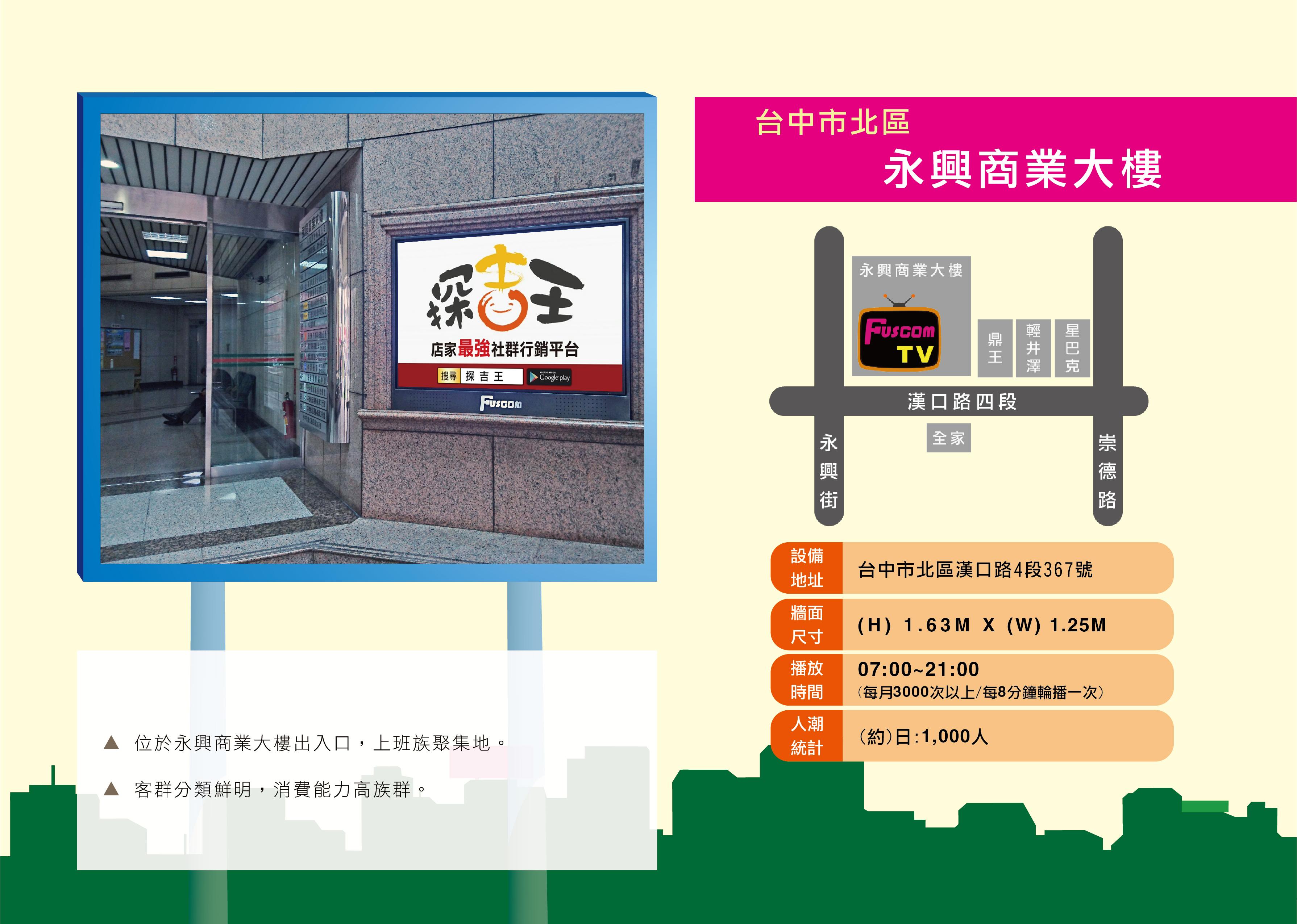 台中市北區永興商業大樓