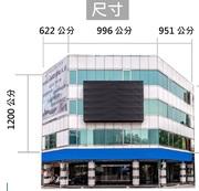 大型牆面廣告 近三多商圈 五福新崛江 黃金三角窗