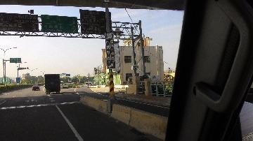 由大肚橋進入彰化市