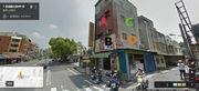 台南市北區、延平市場正對面、三角窗、廣告牆、人潮多、車潮多