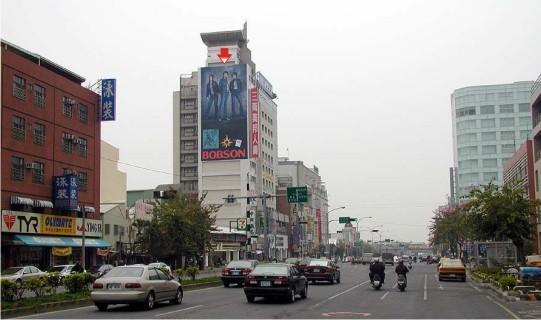 L-0021鐵架廣告塔-嘉義市垂楊路 505 號-新光三越、大遠百、市政府廣告看板