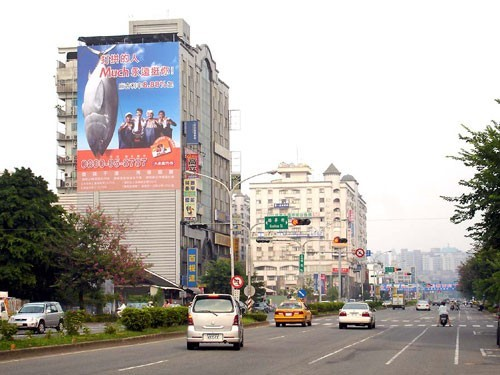 CI-W-7B鐵架廣告塔-嘉義市垂楊路 400 號 - 往新光三越、大遠百、市政府廣告看板