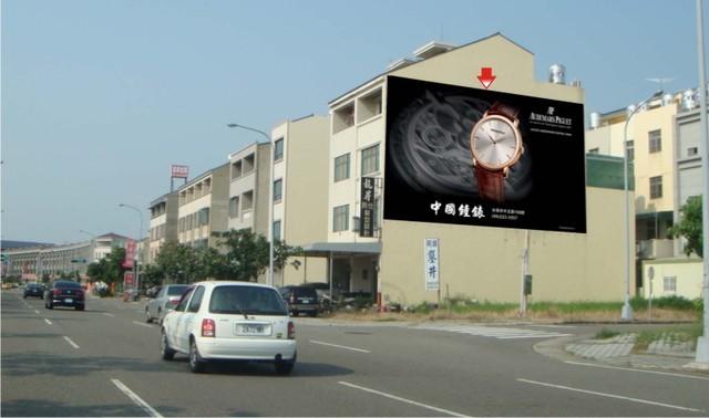 N-0420鐵架廣告塔-台南市歸仁區中正南路二段 87 號 - 高鐵台南站旁廣告看板