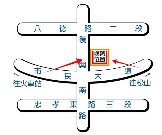 霓虹廣告-地圖