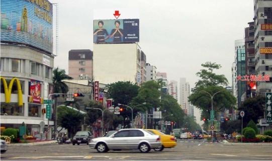 KS-S-52廣告鐵架塔-高雄市中華四路312號頂樓-大立精品館、城市光廊、大統百貨、新崛江廣告看板