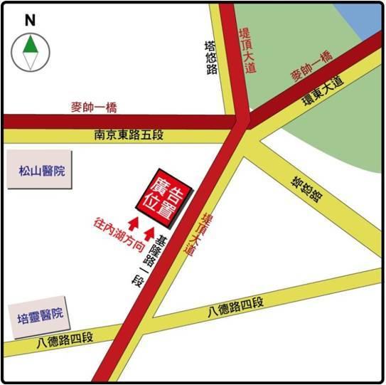 基隆路一段8、10號-地圖