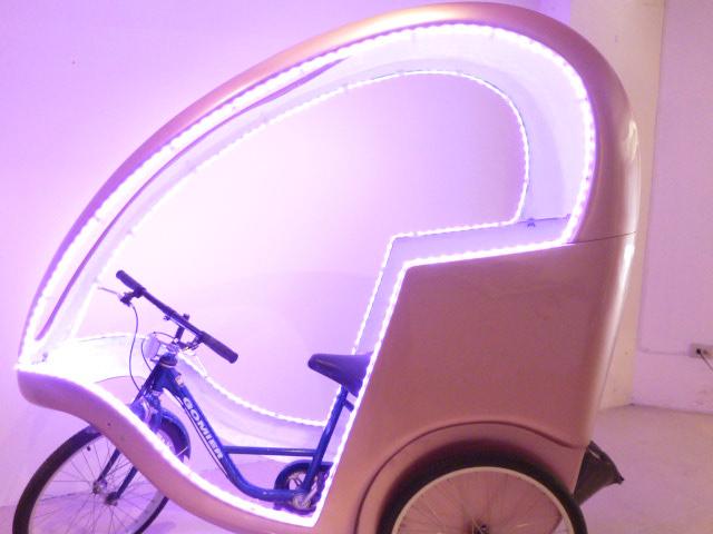 時尚廣告三輪車