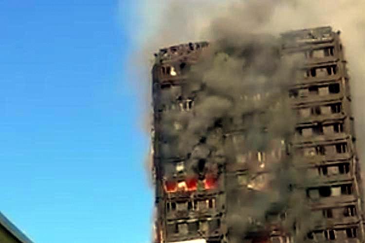 圖片:倫敦住宅火災啟示錄!防火建材知多少?