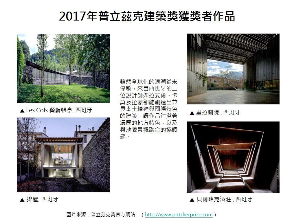 圖片:國際化或本土化?建築界諾貝爾獎得主告訴你如何締造雙贏