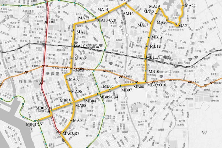 圖片:高雄黃線捷運來了!看看哪裡的房市受益