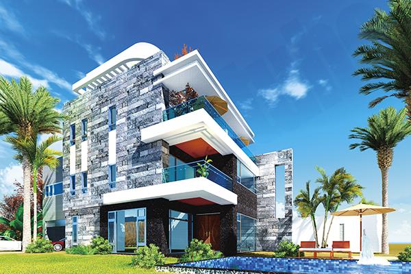 寶隆建設,海灣Villa CEO會館2,豪宅