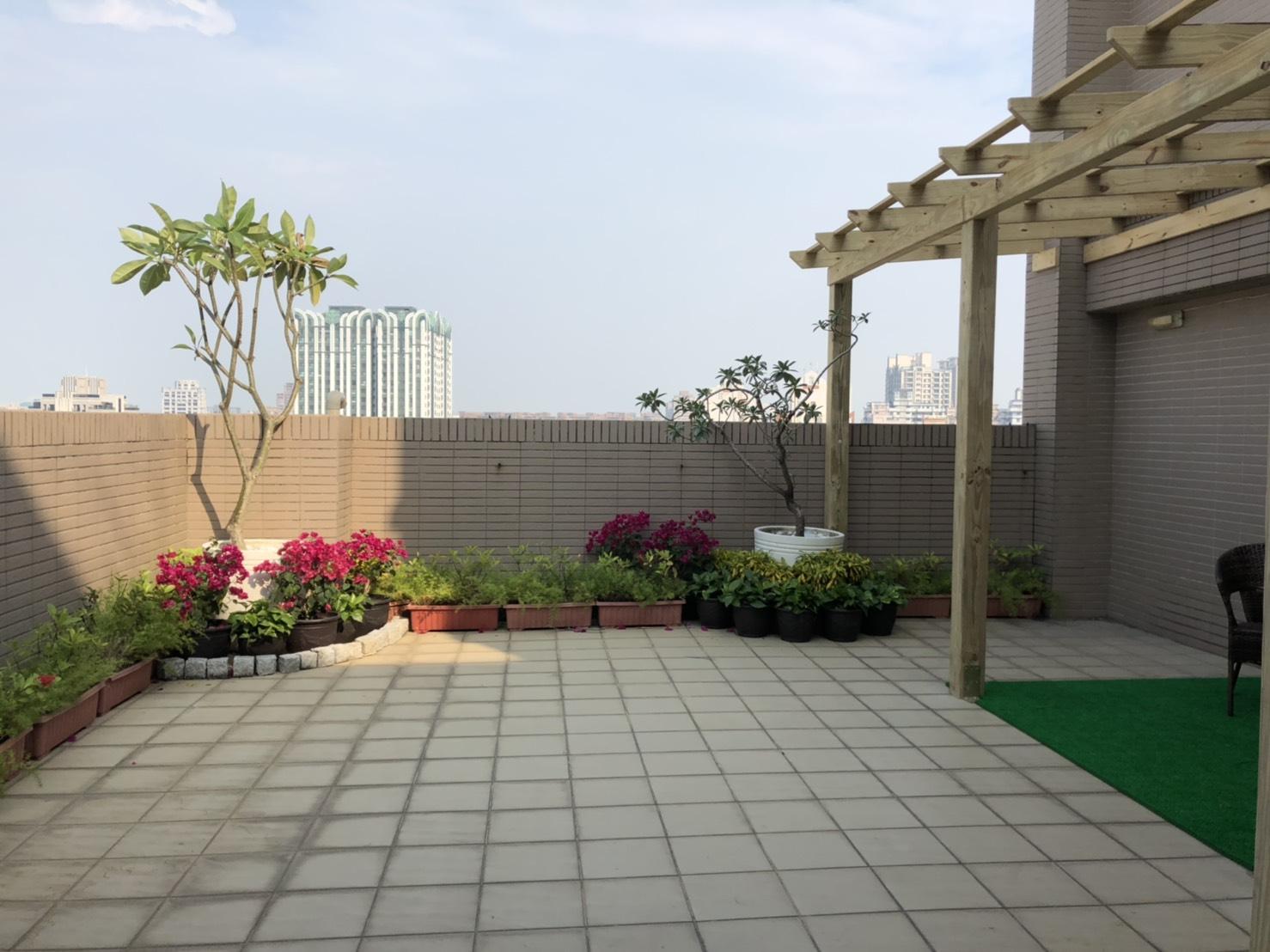 R14巨蛋商圈花園露台景觀三房平車~1288萬