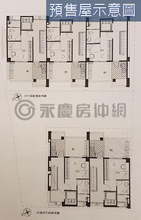 竹北縣府特區全新電梯別墅