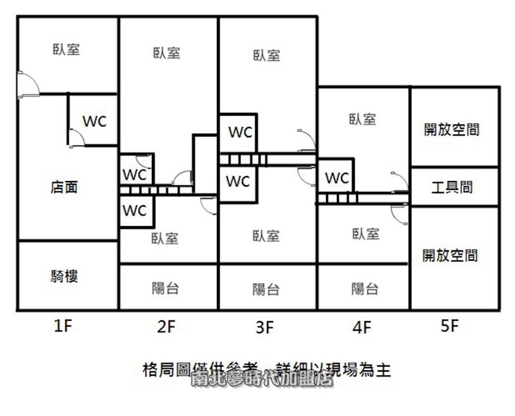 ~*☆安吉路一段 - 台江文化中心透天店住~現況為民宿