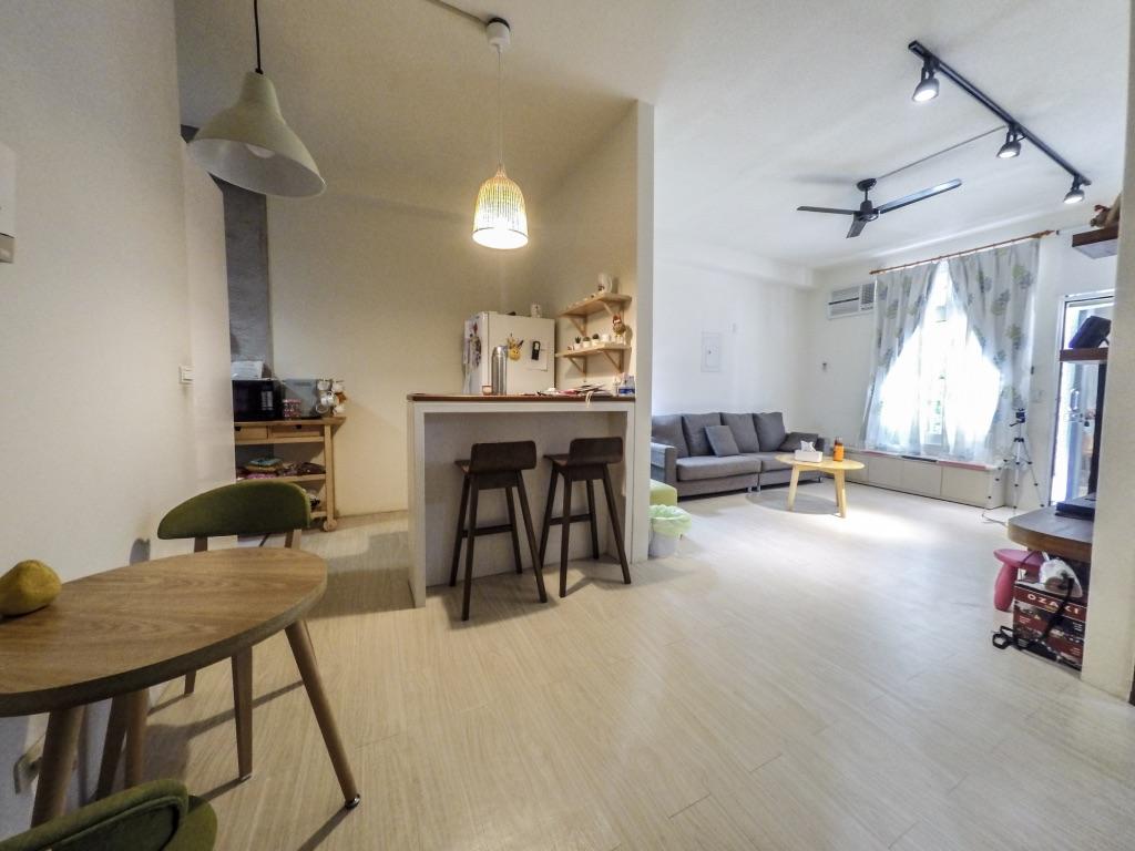 新竹買屋賣屋~湳雅大潤發~前庭後院~稀有一樓超美3房+平車  售798萬