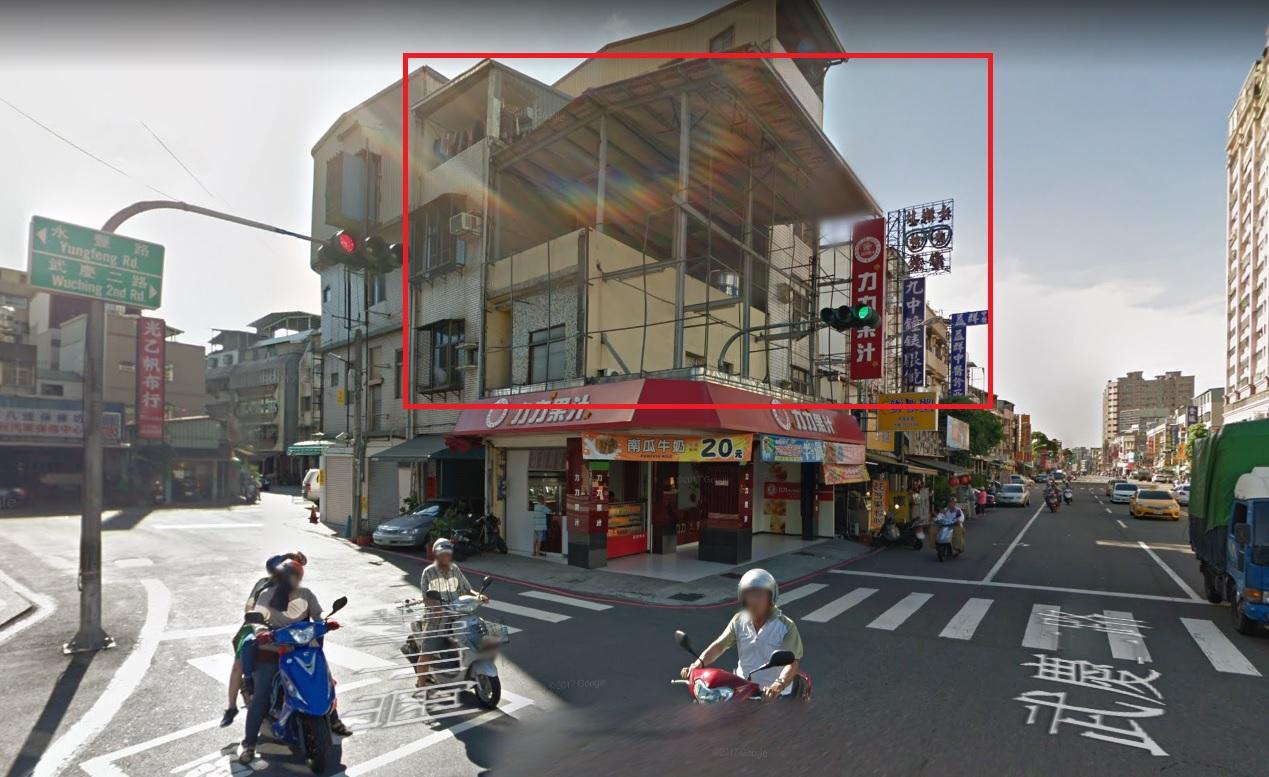 武慶二路/崗山北街-三角窗看板出租