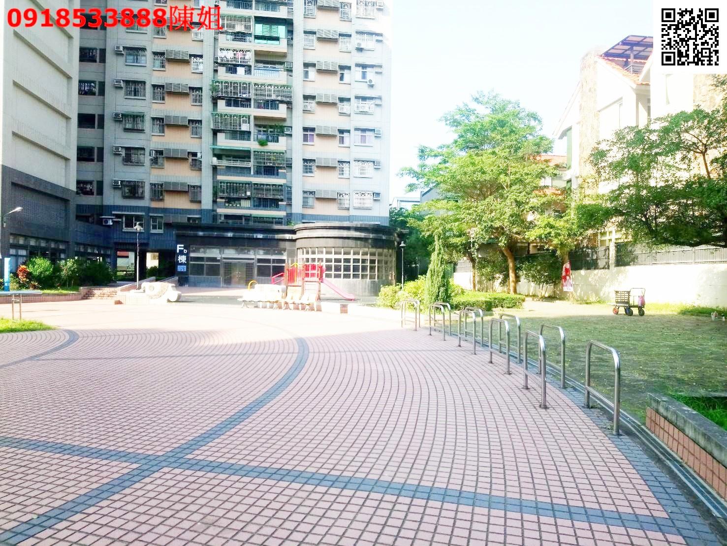 嘉義市東區林森東路精忠新城3房華廈 有平面車位中庭花園