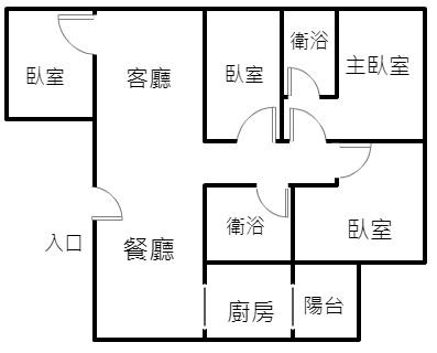 竹買賣房屋~師院~振興~新竹國小~超值四房只要488萬~~~