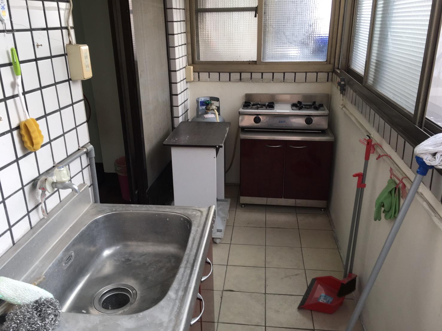 陽台+廚房