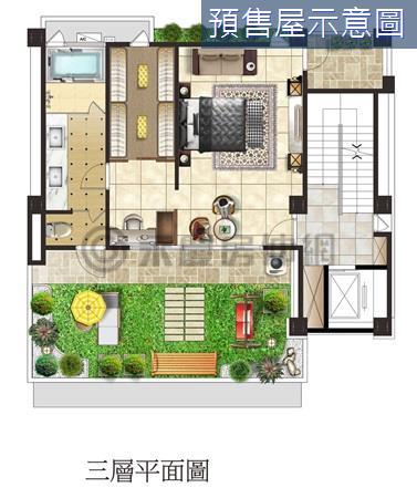 耐震鋼骨建築電梯別墅~前庭後院