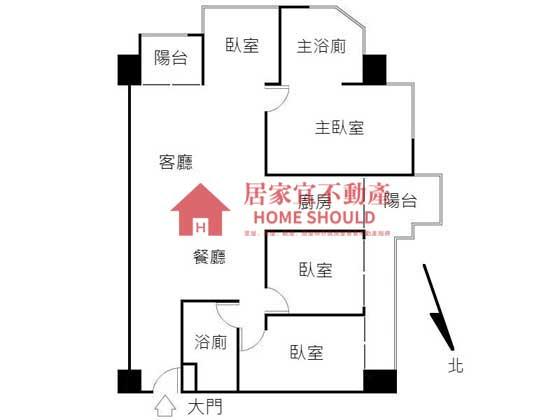 131「台北灣四季之旅。高樓景觀裝潢四房」