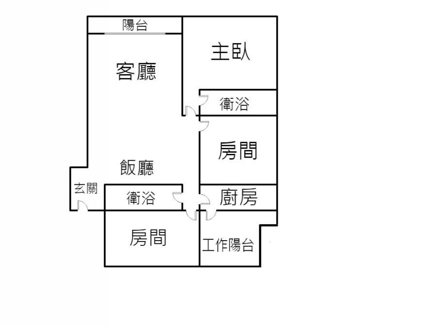 新悅城3房平車