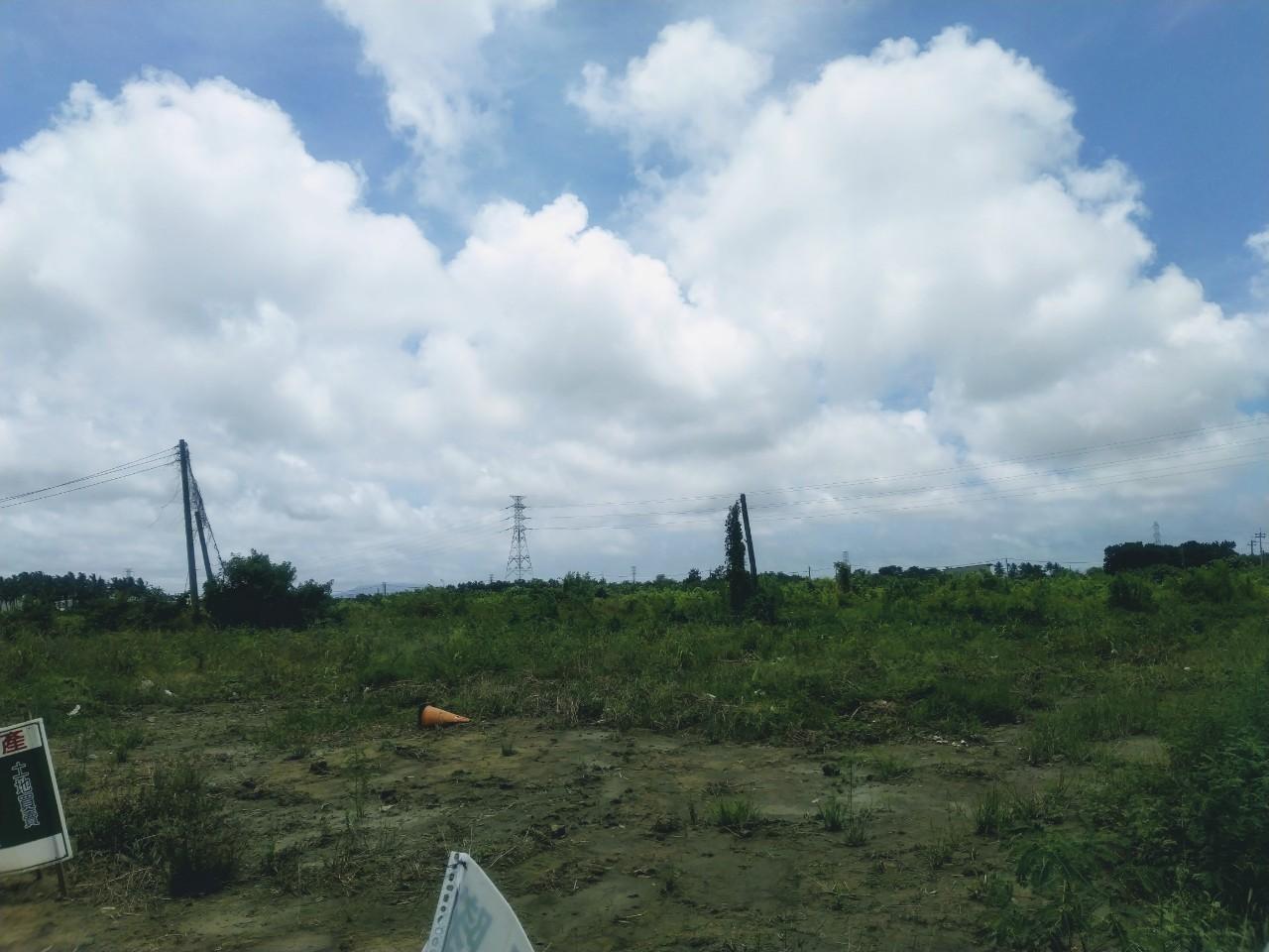 燕巢觀水段大路邊農地~三角窗雙面臨路*機能棒