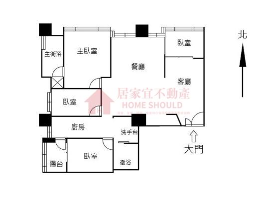 2019088淡水家樂福『甲山林。水公園典雅裝潢四房』
