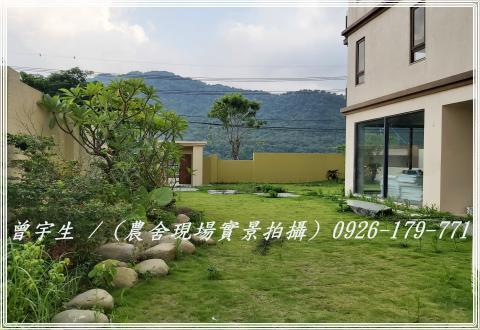 桃園龍潭【石門水岸湖】全新6大房面湖景觀電梯豪華大農舍